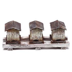 Ruches pour abeilles 5x15x5 cm pour crèche de 12 cm s3