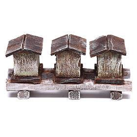 Bee houses 5x10x5 cm, for 10 cm nativity s1