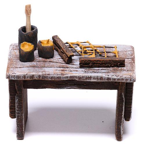 Table apiculteur 5x5x5 cm pour crèche de 10 cm 1