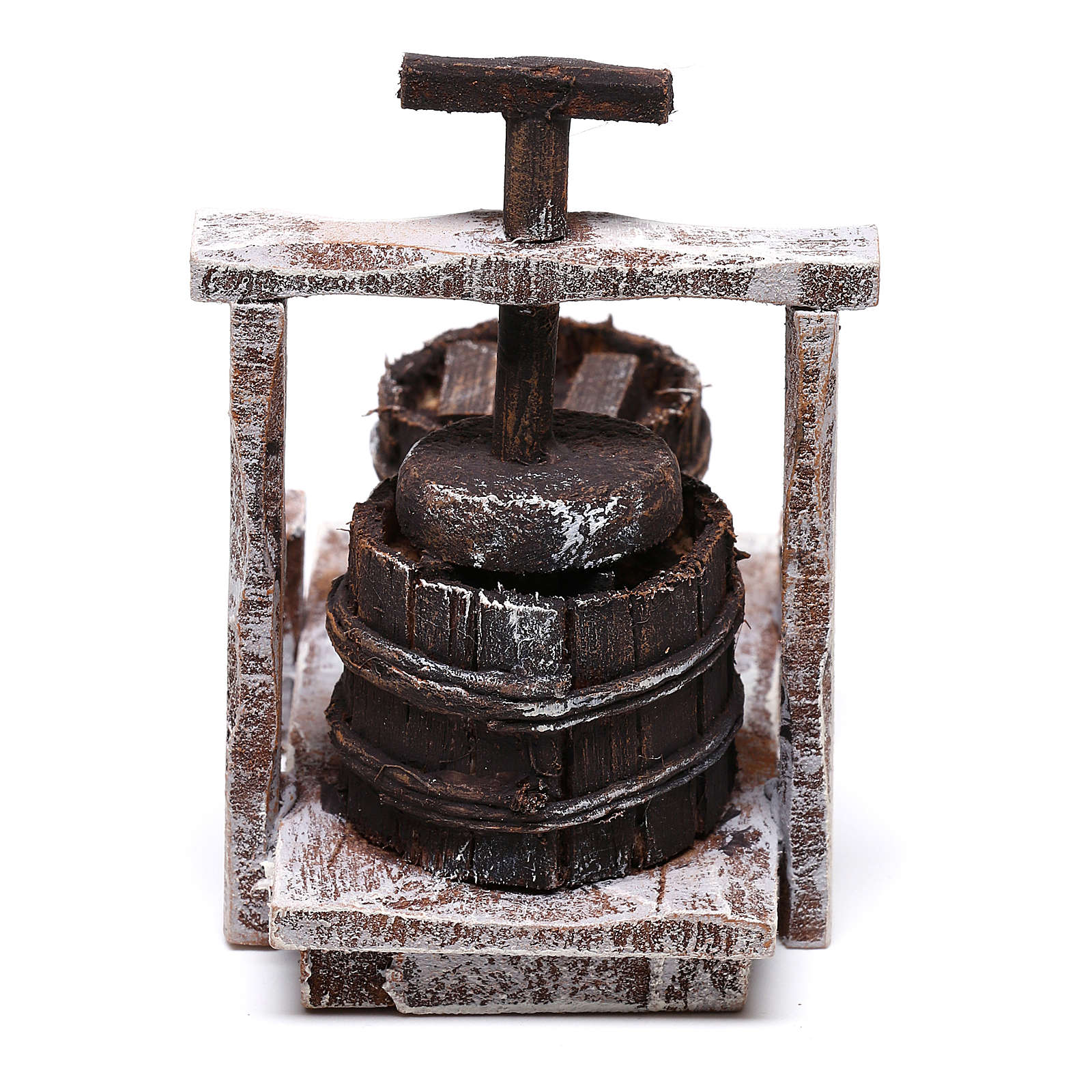 Antique Butter churn 5x5x5 cm, for 10 cm nativity 4