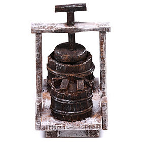 Antique Butter churn 5x5x5 cm, for 10 cm nativity s1