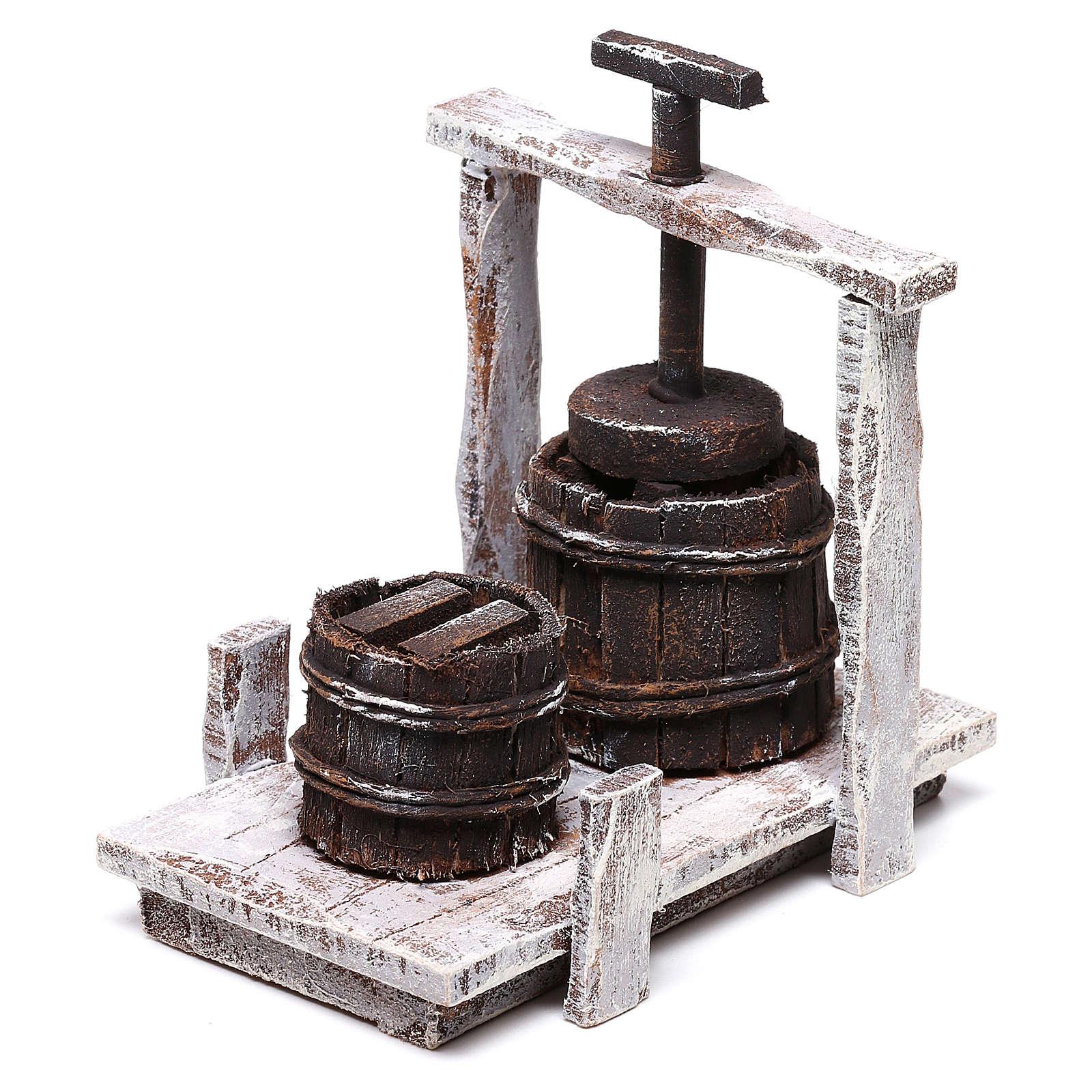 Baratte 10x10x5 cm pour crèche de 12 cm 4