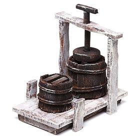 Baratte 10x10x5 cm pour crèche de 12 cm s2