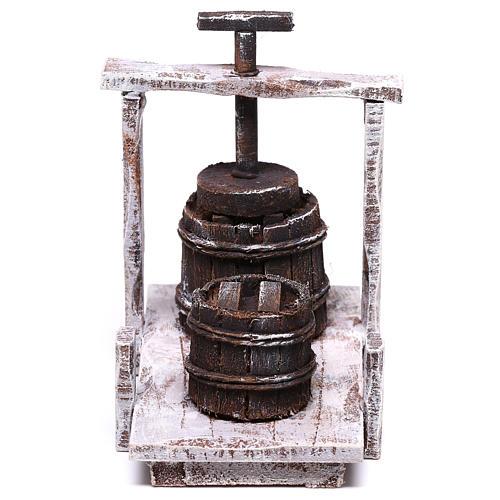 Baratte 10x10x5 cm pour crèche de 12 cm 1