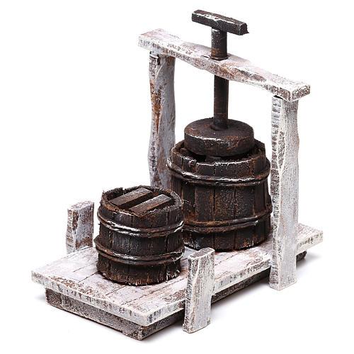 Baratte 10x10x5 cm pour crèche de 12 cm 2