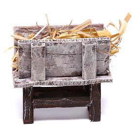 Feeder 6x6.5x3 cm for Nativity scene 10 cm s1