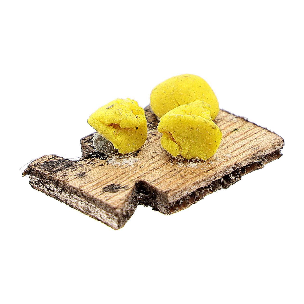 Tabla de cortar pasta fresca para belén napolitano de 12 cm 4