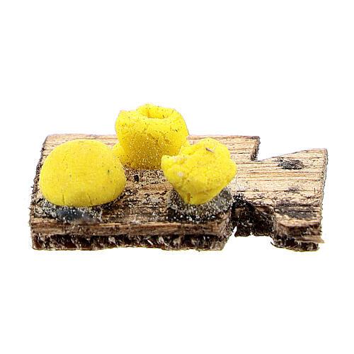 Tabla de cortar pasta fresca para belén napolitano de 12 cm 3