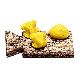 Planche avec pâtes fraîches pour crèche napolitaine 12 cm s1