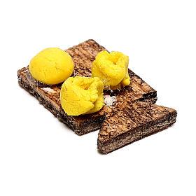 Planche avec pâtes fraîches pour crèche napolitaine 12 cm s2