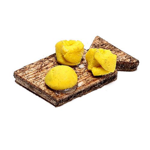 Planche avec pâtes fraîches pour crèche napolitaine 12 cm 3