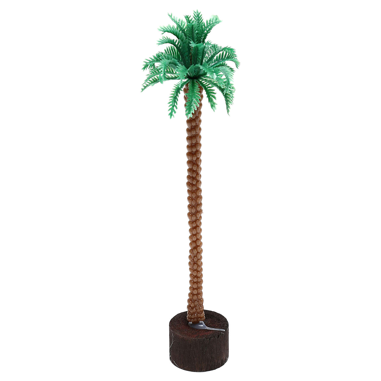 Plug-in palm tree for Nativity scene, 14 cm 4