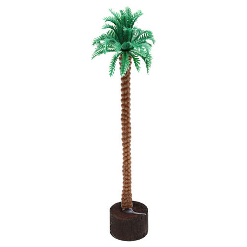 Plug-in palm tree for Nativity scene, 14 cm 1
