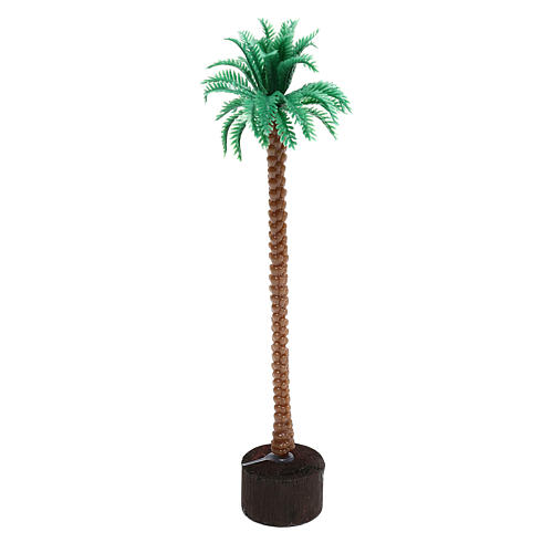 Plug-in palm tree for Nativity scene, 14 cm 2