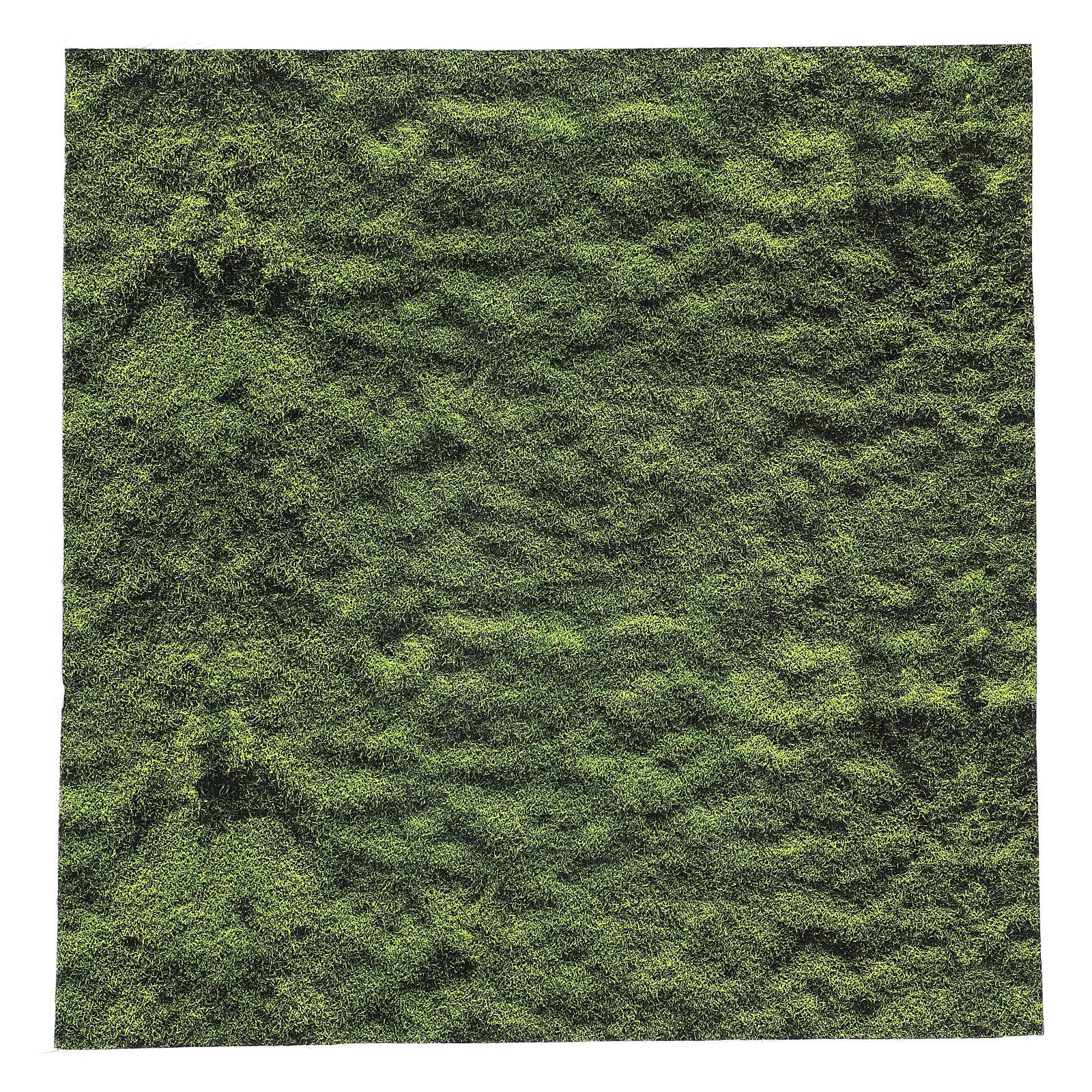 Carta modellabile muschio presepe 60x60 cm 4