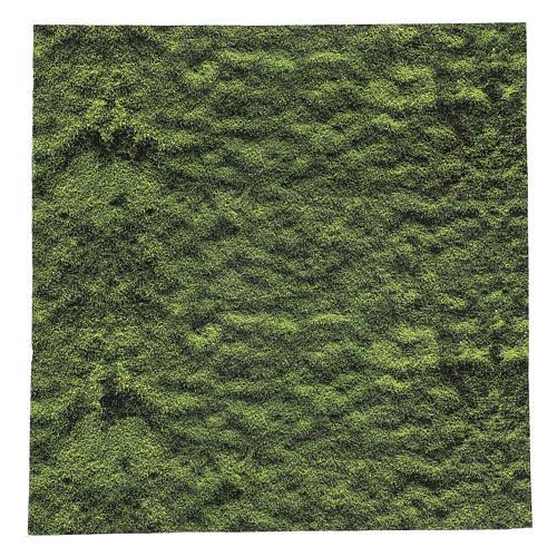 Carta modellabile muschio presepe 60x60 cm 1