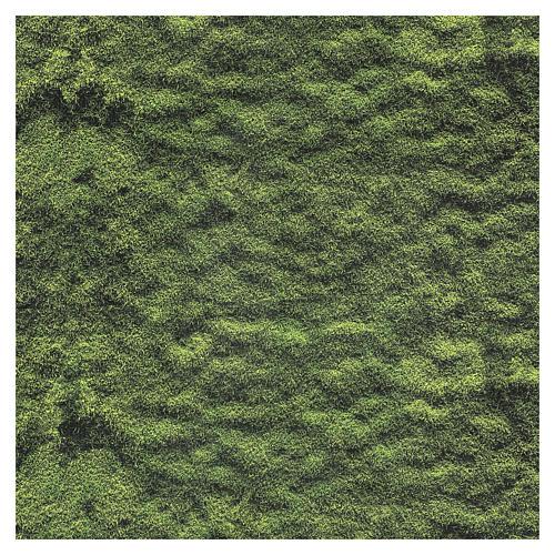 Carta modellabile muschio presepe 60x60 cm 3