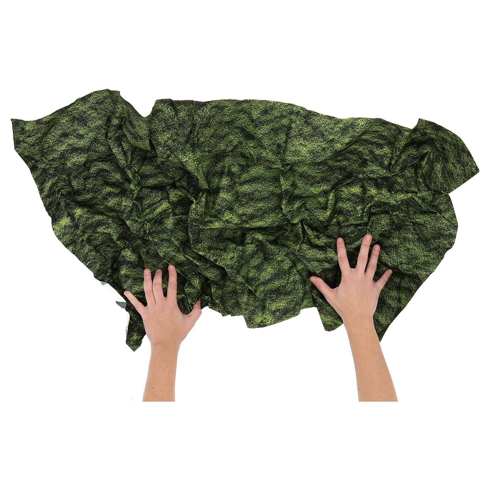 Papel musgo modelable 120x60 cm para belén 4