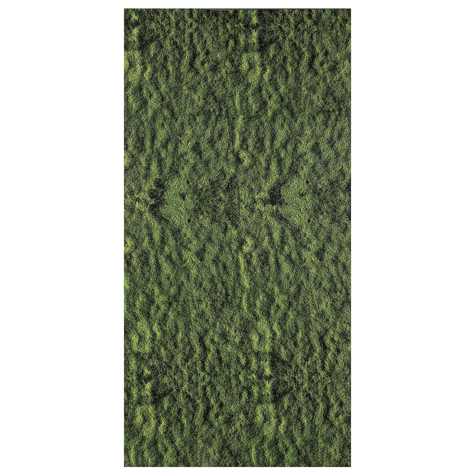 Nativity backdrop moss paper 120x60 cm 4