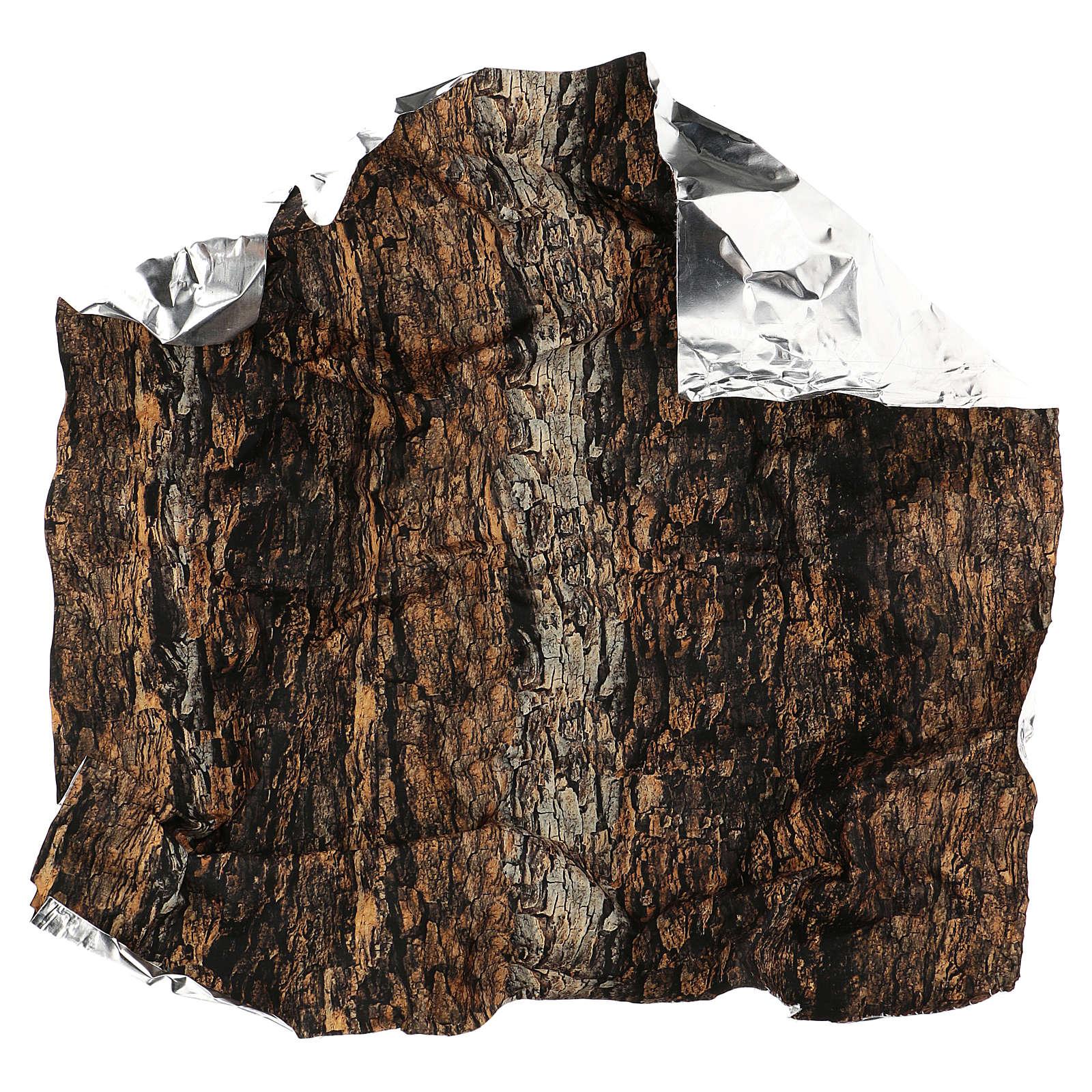 Carta modellabile sughero 60x60 cm per presepe 4