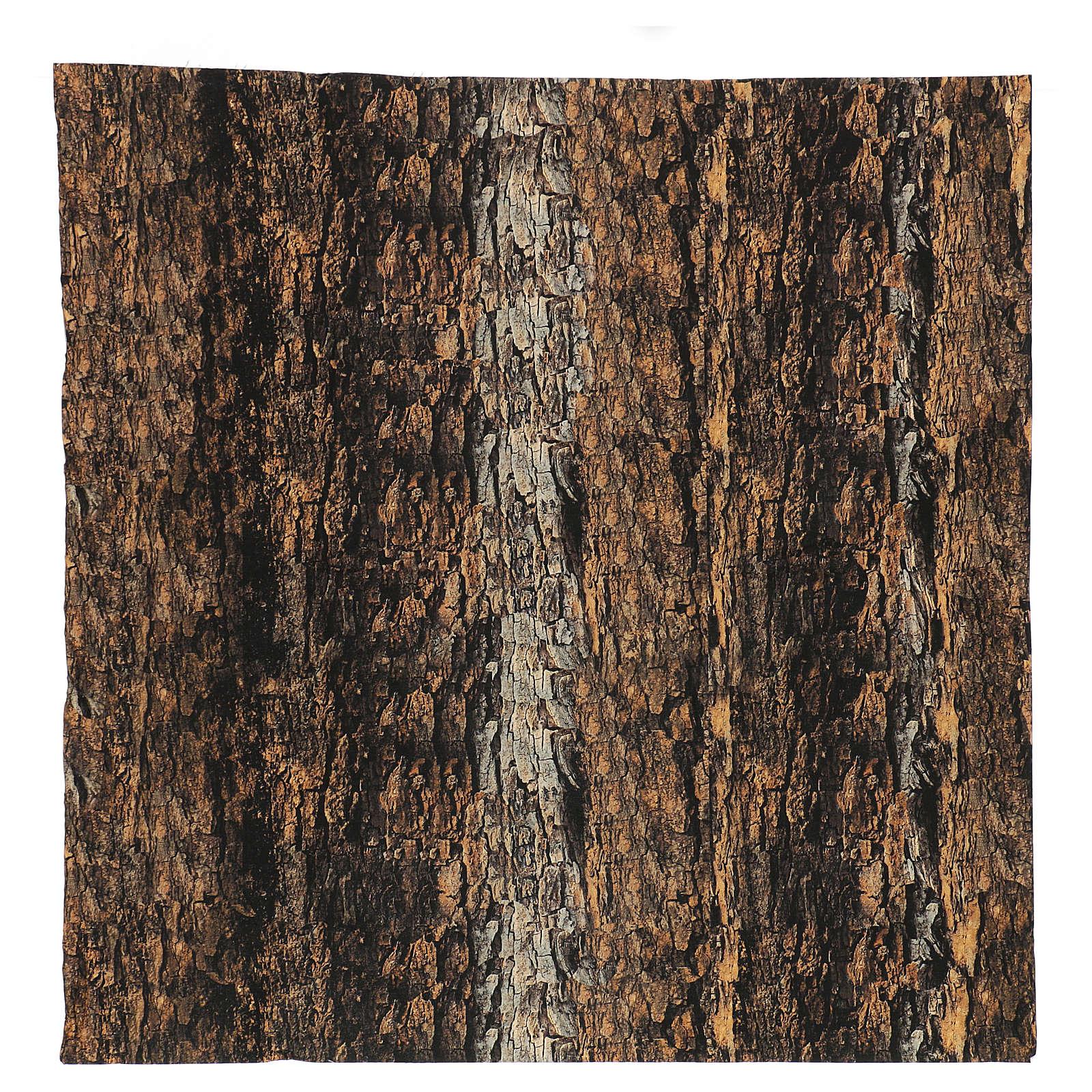 Nativity backdrop paper, cork 60x60 cm 4