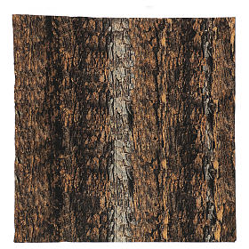 Nativity backdrop paper, cork 60x60 cm s1
