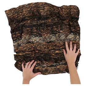 Nativity backdrop paper, cork 60x60 cm s2