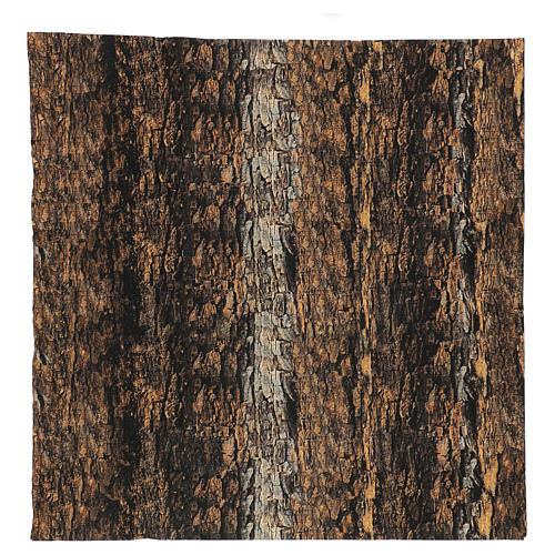 Nativity backdrop paper, cork 60x60 cm 1