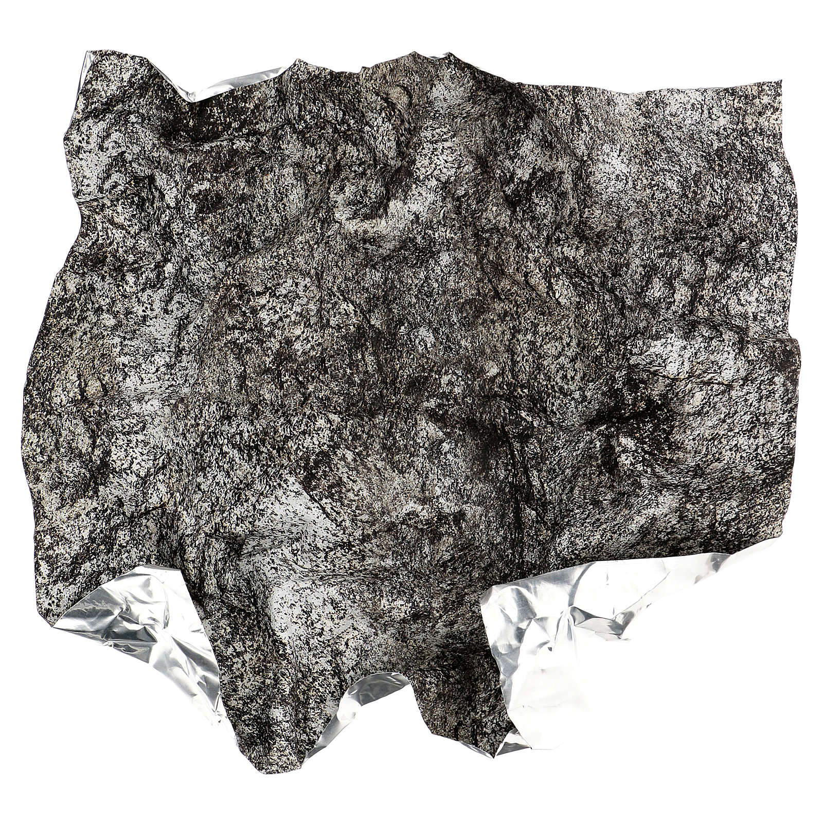 Papel roca nevada modelable para belenes 60x60 cm 4