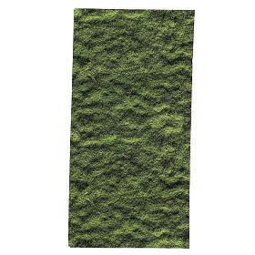 Paisagens, Cenários de Papel e Painéis para Presépio: Papel musgo presépio 60x30 cm para modelar