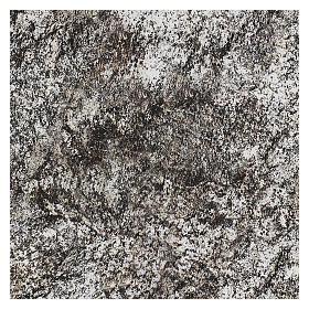 Carta modellabile roccia innevata per presepi 60x30 cm s3