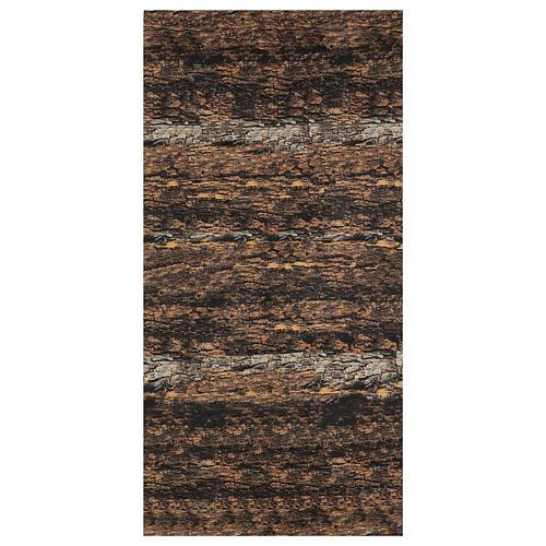 Nativity background paper, cork moldable 120x60 cm 1