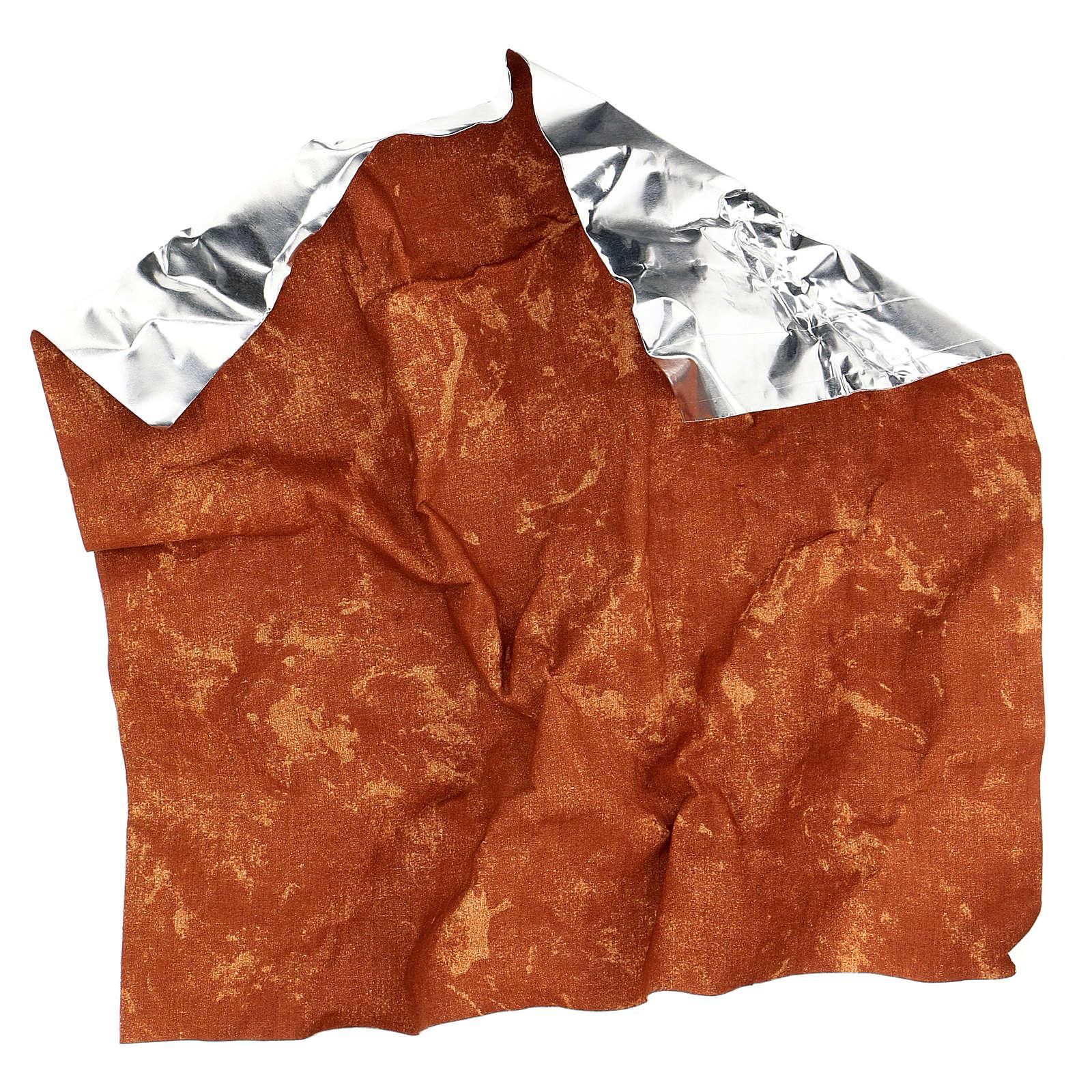 Papier à modeler terre rouge 30x30 cm pour crèche 4