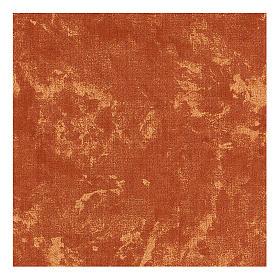 Carta modellabile terra rossa 30x30 cm per presepi s3