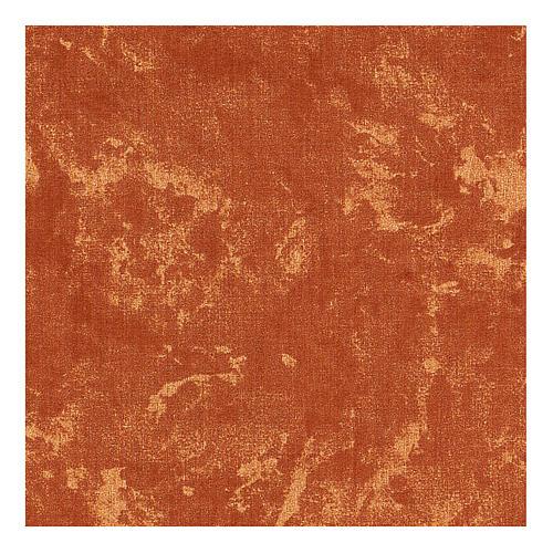 Carta modellabile terra rossa 30x30 cm per presepi 3
