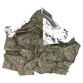 Carta corteccia plasmabile 60x60 cm per presepi s4