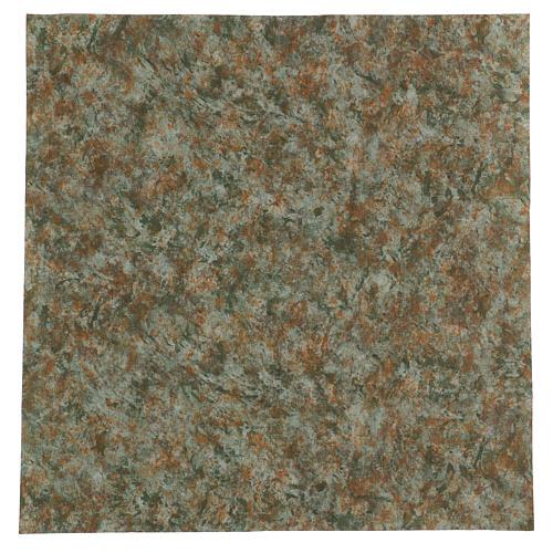 Carta corteccia plasmabile 60x60 cm per presepi 1