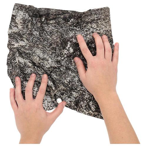 Papier à modeler roche 30x30 cm pour crèche 2