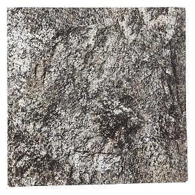 Carta plasmabile roccia 30x30 cm per presepi s1