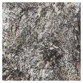 Carta plasmabile roccia 30x30 cm per presepi s3