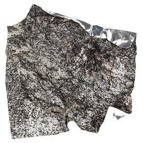 Carta plasmabile roccia 30x30 cm per presepi s4
