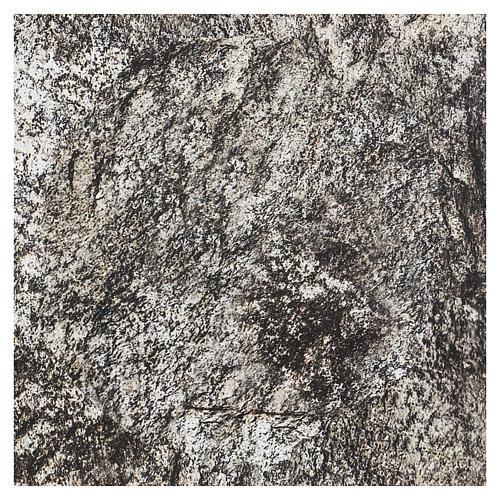 Carta plasmabile roccia 30x30 cm per presepi 3
