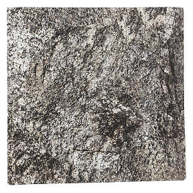 Nativity backdrop, rocky texture paper 30x30 cm s1