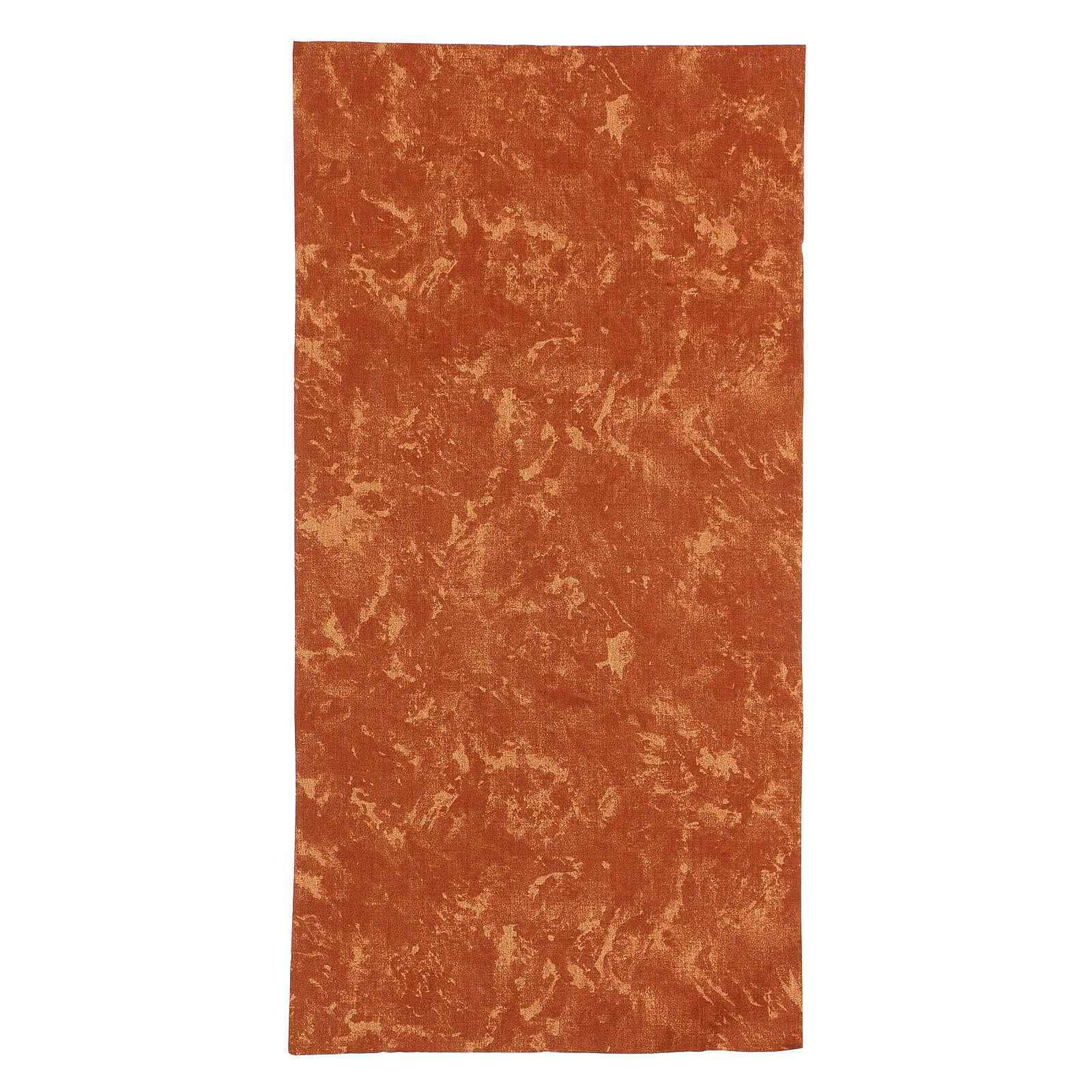Modellierbares Papier für Krippe roten Erd-Effekt 60x30cm 4