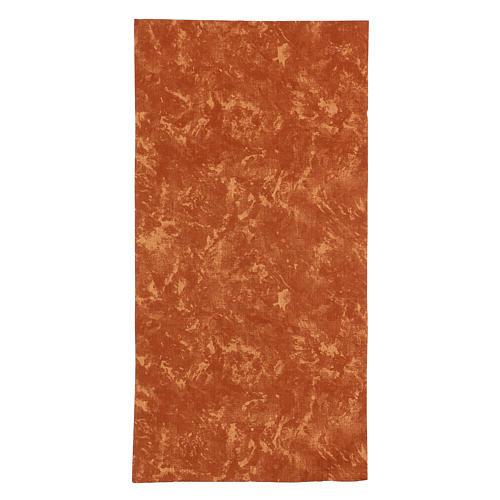 Modellierbares Papier für Krippe roten Erd-Effekt 60x30cm 1