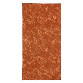 Carta terra rossa plasmabile 60x30 cm per presepi s1