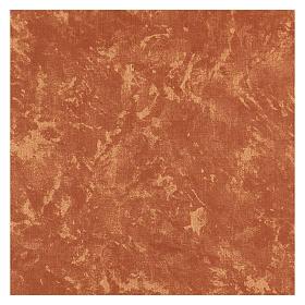 Carta terra rossa plasmabile 60x30 cm per presepi s3