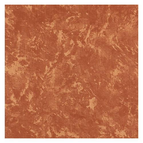 Carta terra rossa plasmabile 60x30 cm per presepi 3