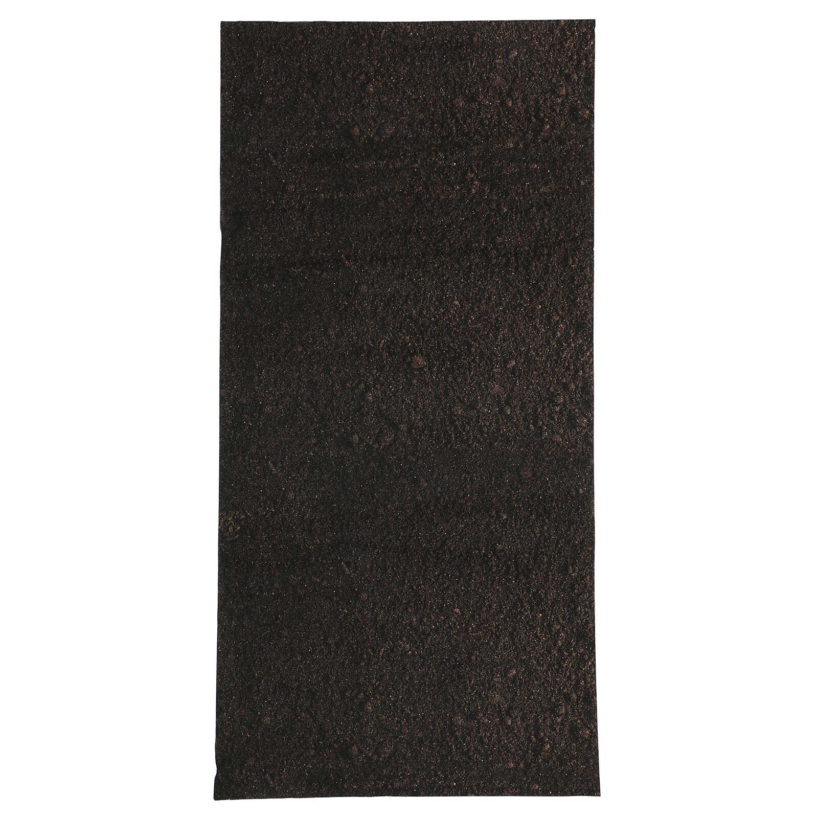 Nativity backdrop paper, dirt 60x30 cm 4