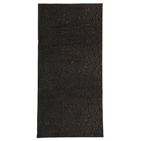 Nativity backdrop paper, dirt 60x30 cm s1